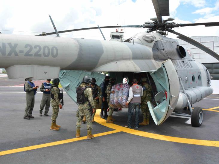 Envía SPC víveres al Totonacapan; solicitan declaratoria de emergencia