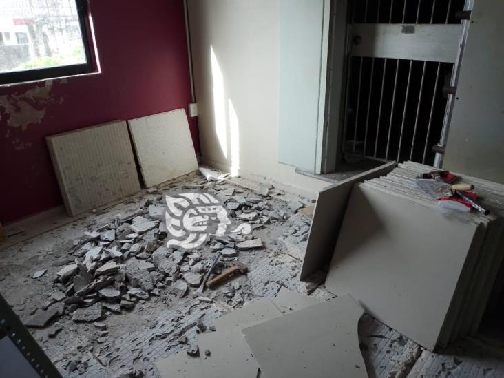 Rehabilitan instalaciones en INE Coatzacoalcos, previo a su reapertura