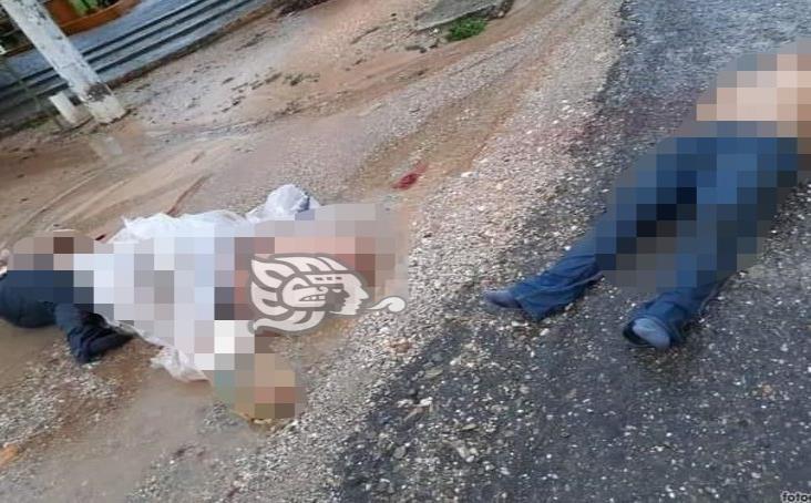 Dejan tres cadáveres en parque de Playa Vicente; los levantaron en Isla
