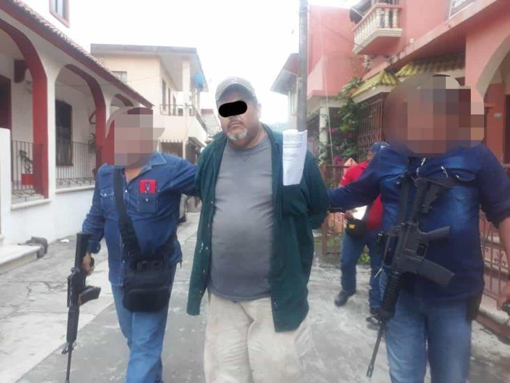 Detienen a presunto pederasta en San Andrés Tuxtla
