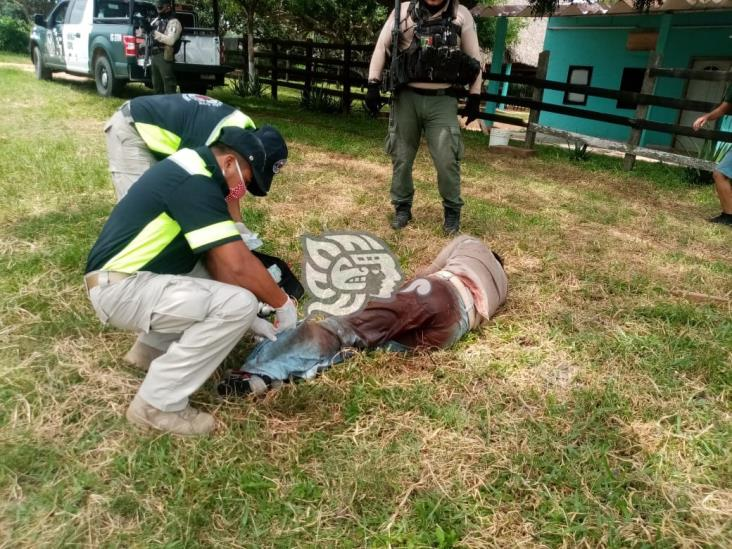 Detienen a pistoleros que pretendían apoderarse de rancho en Acayucan