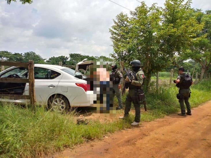 Rescata Fuerza Civil a persona privada de su libertad en Hueyapan