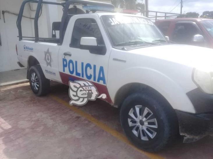 En Moloacán, policía le dispara a su compañero y se da a la fuga