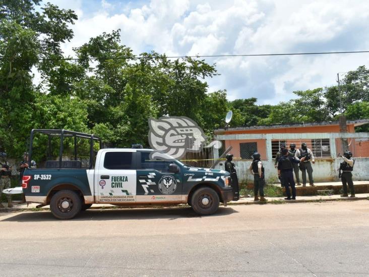 Localizan hombre desmembrado en casa de seguridad en Acayucan