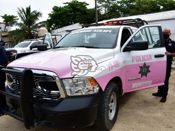 Policía brinda resguardo a 25 víctimas de violencia en Coatzacoalcos
