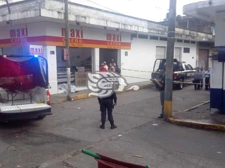 Comerciante muere instantáneamente en calles de Córdoba
