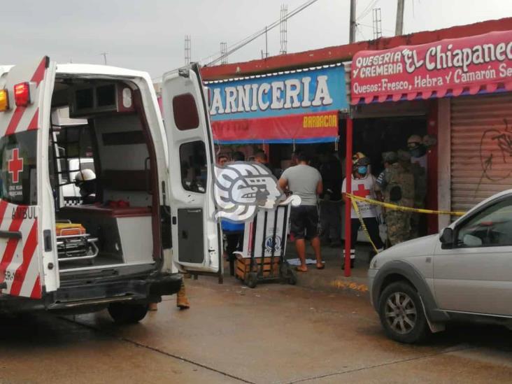 Identifican al carnicero asesinado en Ciudad Olmeca