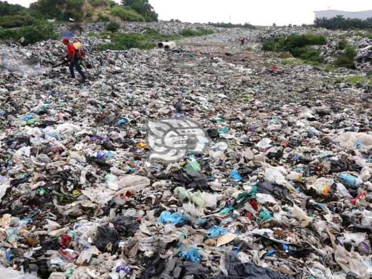 Analizan nuevo terreno para depositar desechos de Coatzacoalcos y Allende