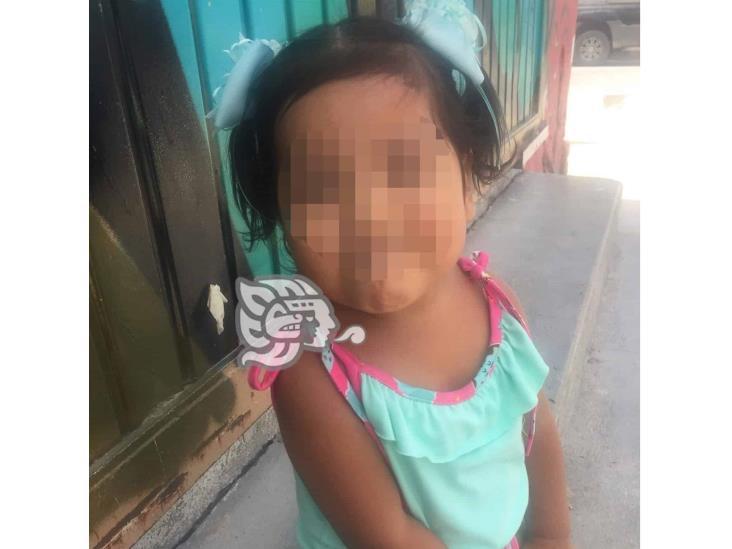 Joven madre pide apoyo médico para su pequeña de 2 añitos