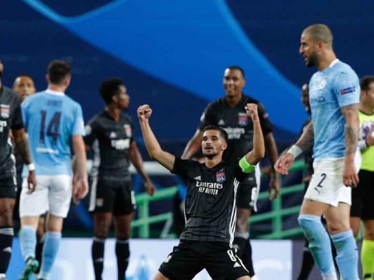 El Lyon elimina al City de la Champions League