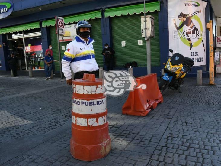 Despliega Tránsito 160 elementos para reducir movilidad en Veracruz