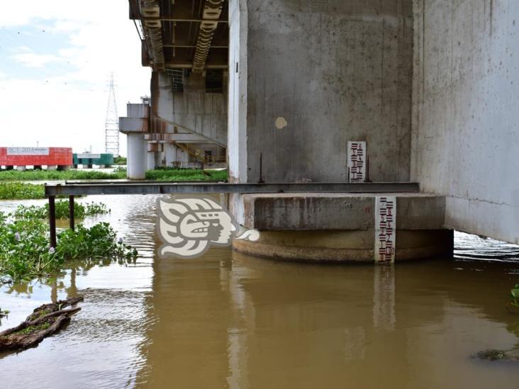 PC mantiene monitoreados los ríos Coatzacoalcos y Calzadas
