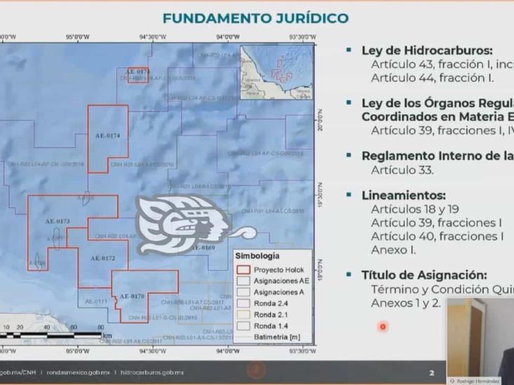 Aprueban a Pemex 3 de 4 asignaciones en el campo petrolero Holok
