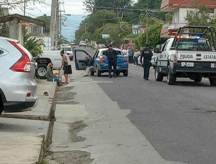 Se registra balacera en Coatepec