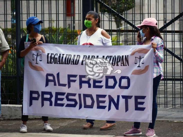 Exigen a diputados nombrar a Alfredo Carreto como alcalde de Actopan