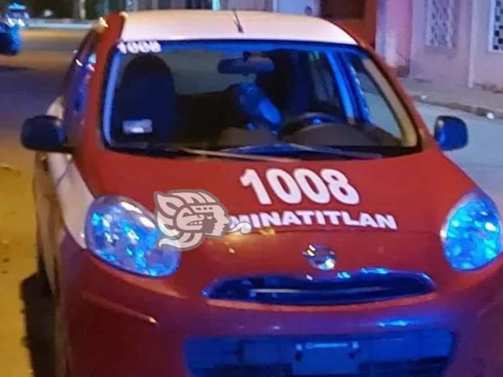 Ejecutan a taxista en la Insurgentes Norte de Minatitlán