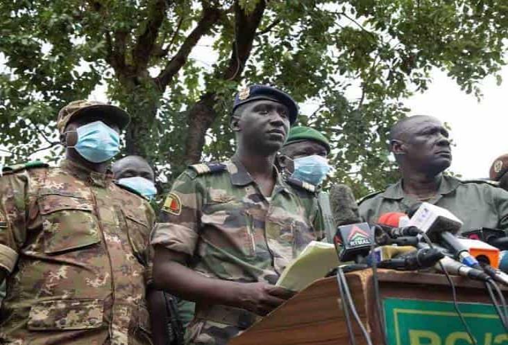 Tras golpe de Estado en Mali se presenta nuevo líder