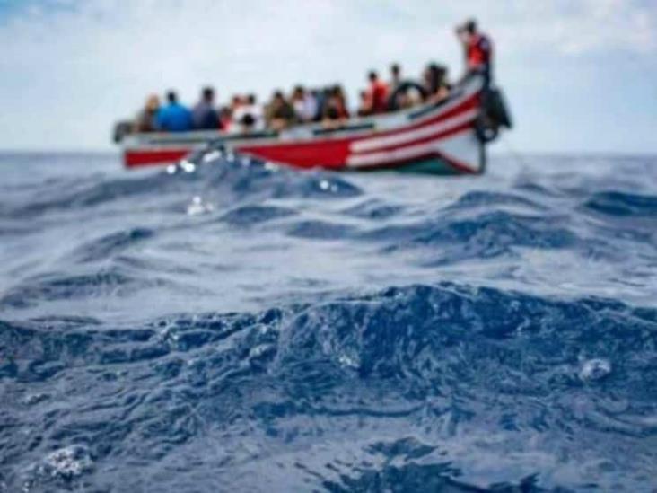Mueren al menos 45 migrantes en naufragio en las costas de Libia