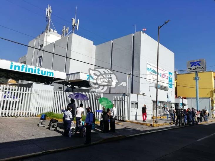 En paro telefonistas de Orizaba; acusan violaciones laborales