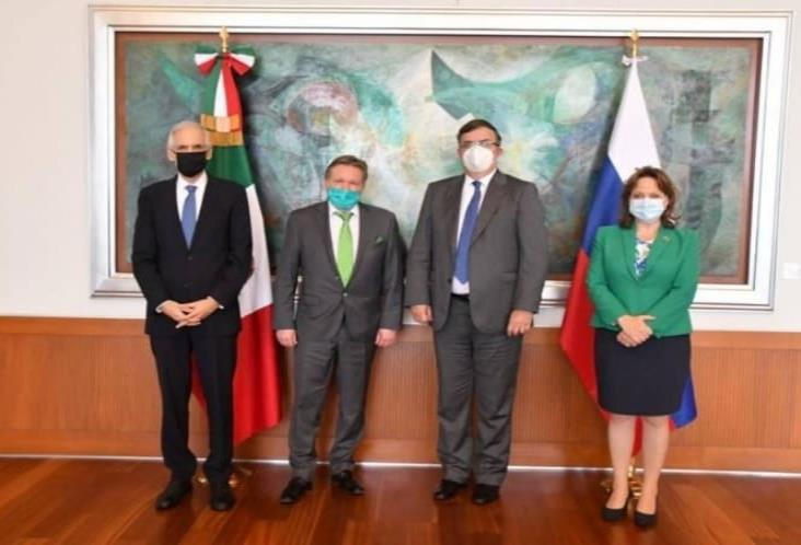 Rusia ofrece a México 2 mil dosis de vacuna contra covid-19