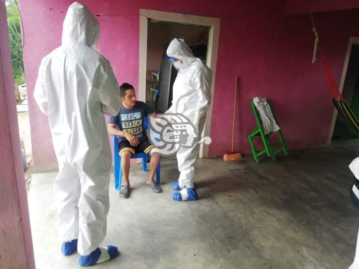 Activan brigada para atender a contagiados de Covid 19 en Moloacán