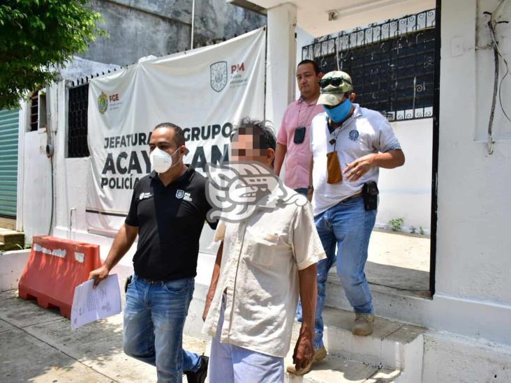 Capturan a presunto pastor violador en Acayucan; 10 años prófugo