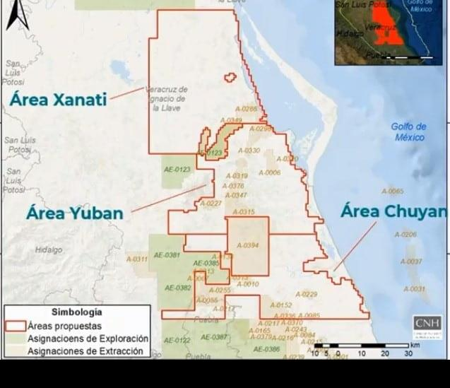 Sener invertirá más de mil mdd en exploraciones al norte de Veracruz