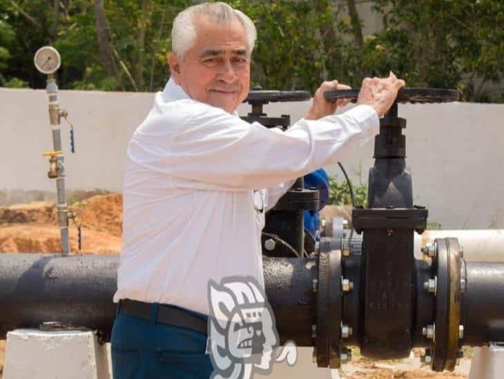 Más de 10 mdp destinados a infraestructura hidráulica en Minatitlán