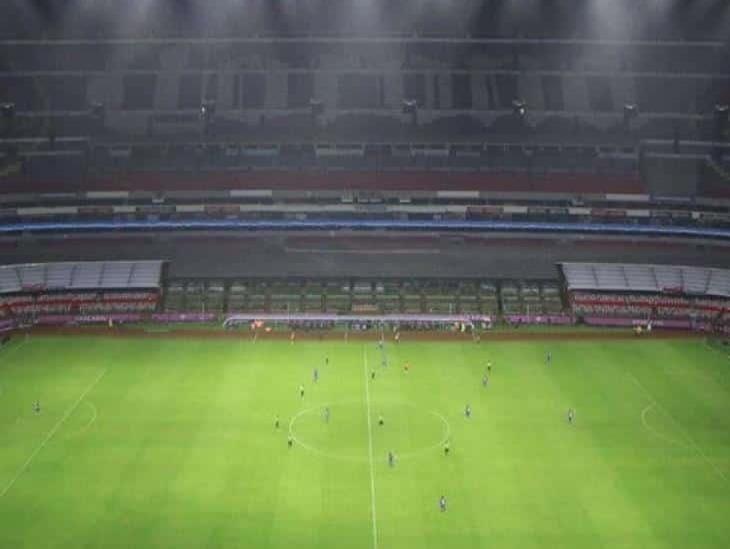 Nuevo alumbrado del Estadio Azteca está casi listo para América vs Rayados