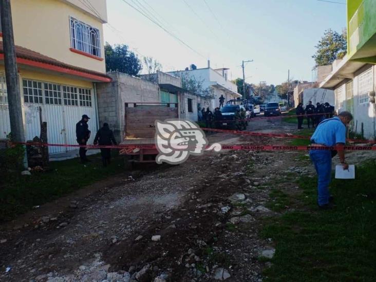 Asesinan a familia en Altotonga; una menor entre las víctimas