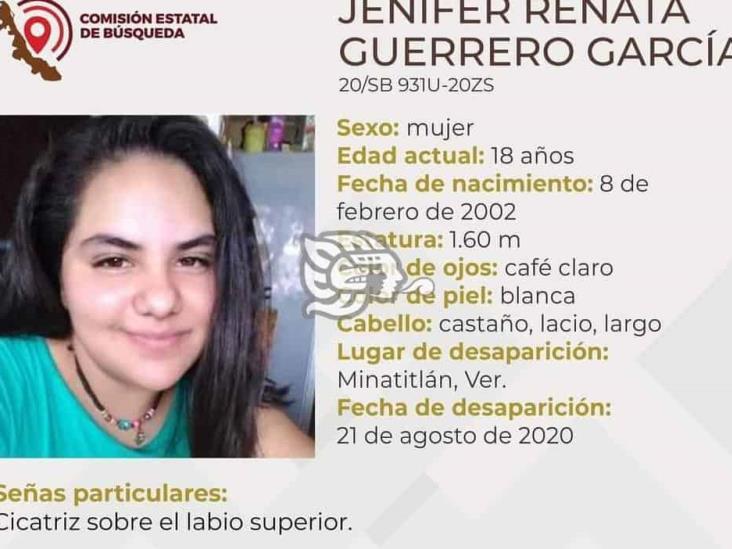 Buscan a Jenifer en Minatitlán; se extravió hace tres días