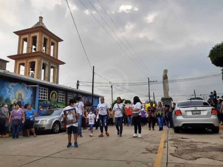 Clama justicia en último adiós de funcionario de Soconusco