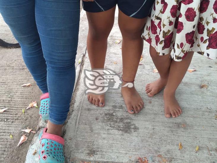Padre agrede a sus hijas en Las Choapas mientras tomaban clases en línea