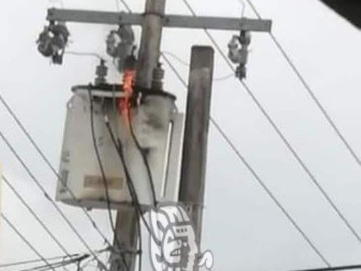 Habitantes de Villa Cuichapa permanecieron más 24 horas sin electricidad