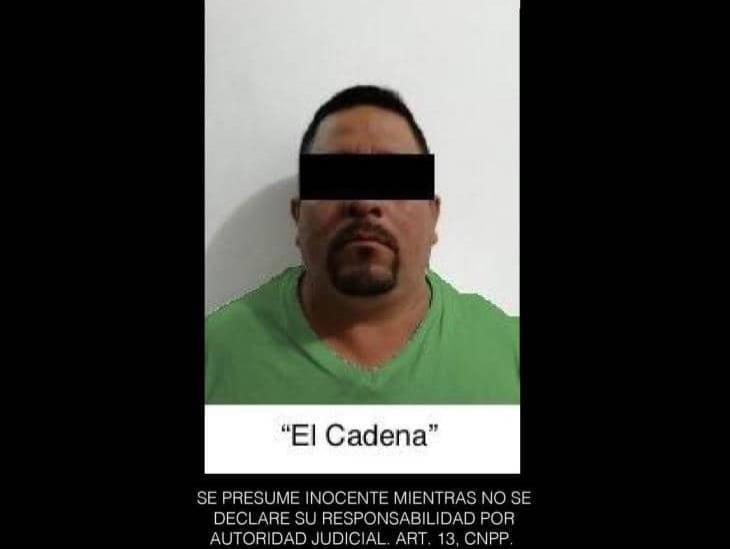 Detienen a presunto jefe de plaza de banda ´Los Piña´, en Catemaco