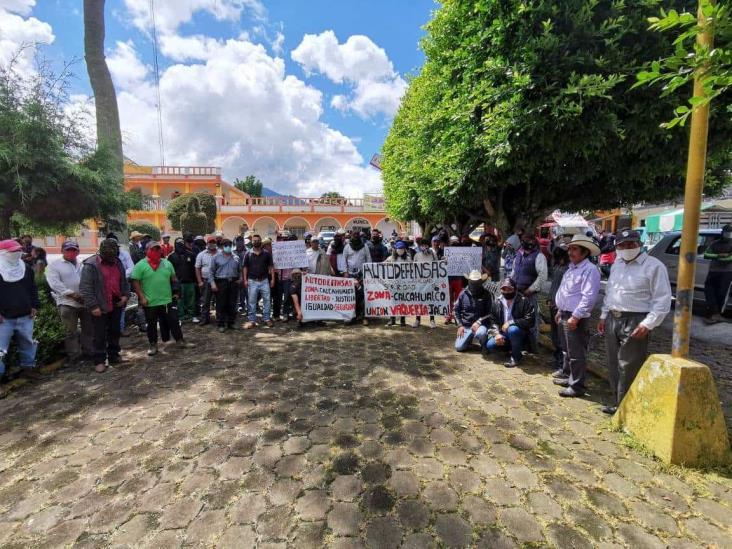 Brotan más autodefensas en Veracruz, ahora en Calcahualco
