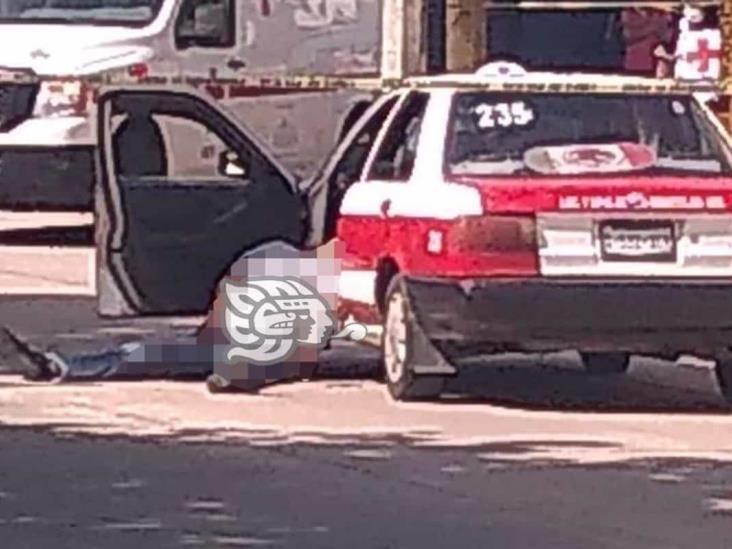 Taxista es asesinado a balazos en Minatitlán