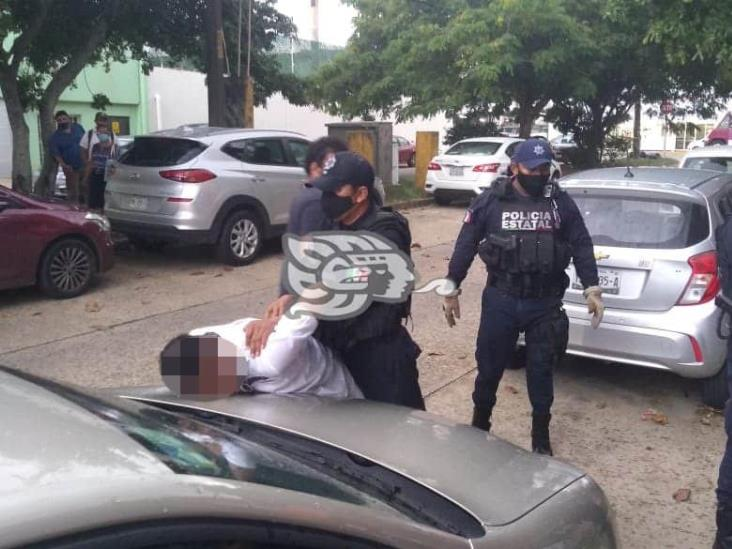 Detienen a delincuente mientras robaba en domicilio de Coatzacoalcos