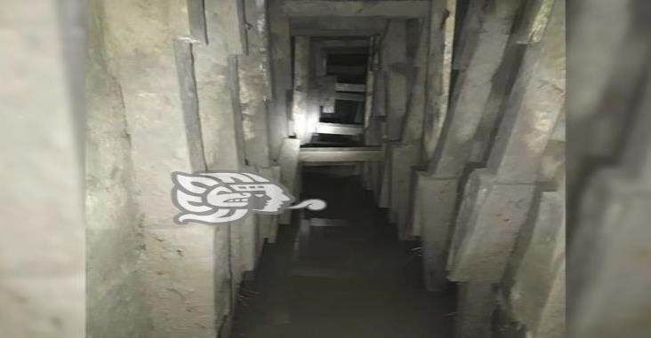 Hallan túnel entre México y Estados Unidos, bajo el Río Bravo