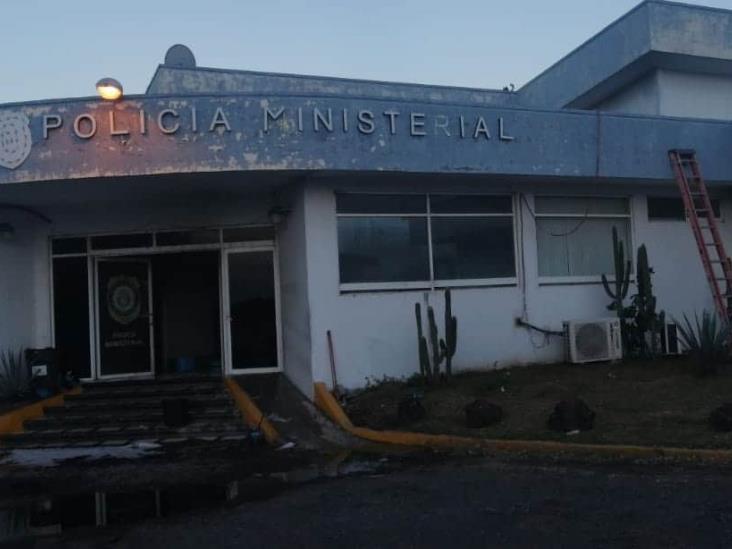 Se registra conato de incendio en instalaciones de la Fiscalía Regional de Veracruz