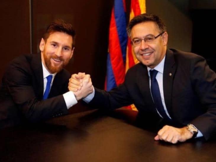 Bartomeu estaría dispuesto a dejar presidencia para que Messi siga en Barça
