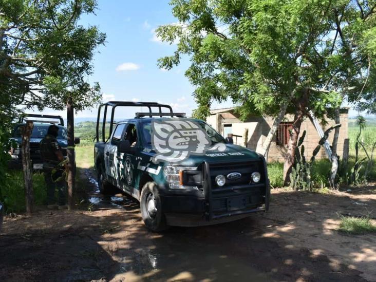 Rancho de Acayucan sigue bajo resguardo tras hallazgo de fosa