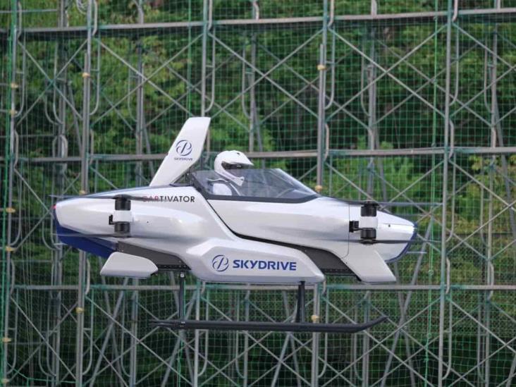 Este es el prototipo de auto volador que levanta vuelo en Japón