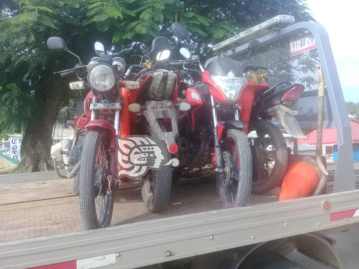 Piden a autoridades de tránsito pongan un alto a veloces motociclistas