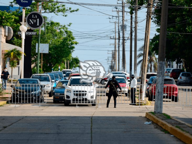 Cierres en Centro de Coatzacoalcos no se levantarán: alcalde