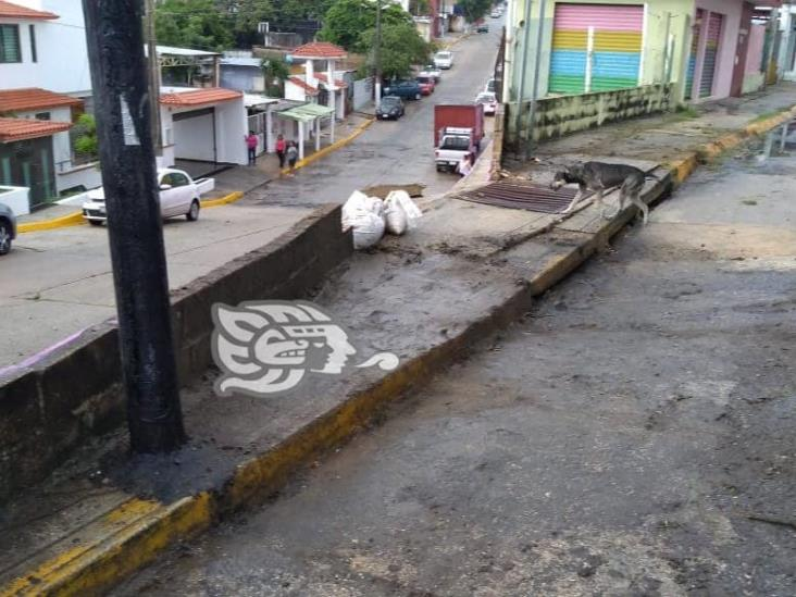 Colonos solicitan reparación de afectaciones causadas por lluvias