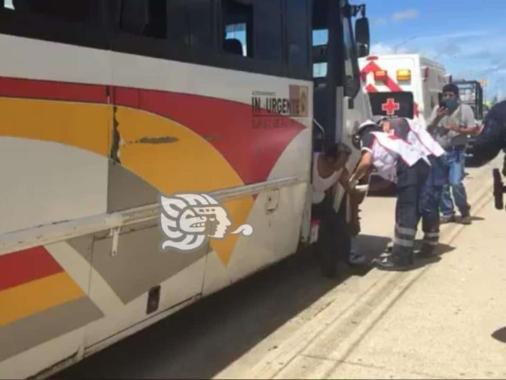 Riña entre chóferes de Minatitlán dejó un lesionado