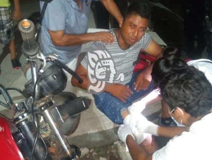 Tres accidentes automovilísticos durante el fin en Las Choapas