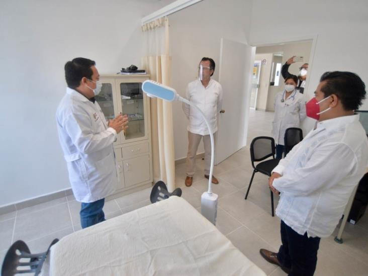 En Totomoxtle, CGJ entrega nuevo CS, ejemplo de la transformación del salud