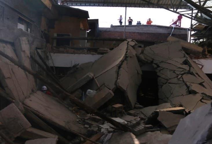 Mueren 17 personas por derrumbe de restaurante en China